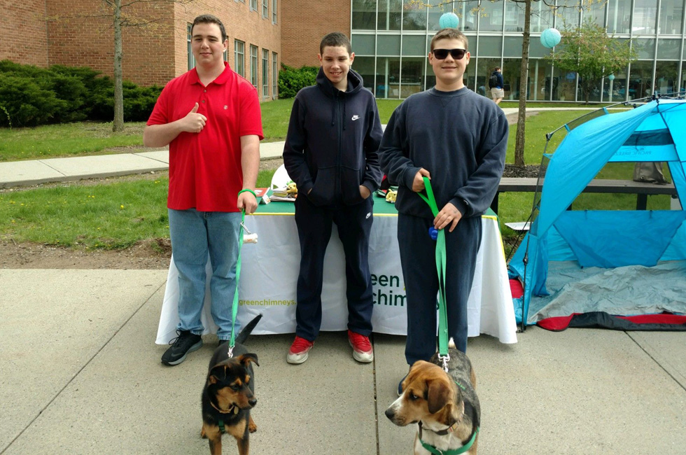 Green Chimneys students are helping shelter dogs and sharing their work with the community.